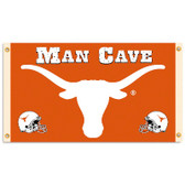 Texas Longhorns Man Cave 3 Ft. X 5 Ft. Flag W/ 4 Grommets