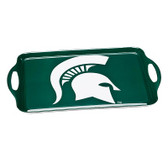 Michigan State Spartans Melamine Serving Tray