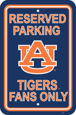 "Auburn Tigers 12"" X 18"" Plastic Parking Sign"