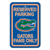 "Florida Gators 12"" X 18"" Plastic Parking Sign"