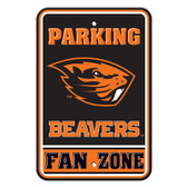 "Oregon State Beavers 12"" X 18"" Plastic Parking Sign"
