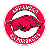Arkansas Razorbacks Vinyl Magnet