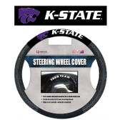 Kansas State Wildcats  Poly-Suede Steering Wheel Cover