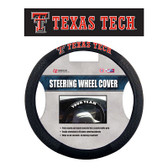 Texas Tech Red Raiders Poly-Suede Steering Wheel Cover