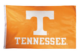Tennessee Volunteers 2-sided Nylon Applique 3 Ft x 5 Ft Flag w/ grommets