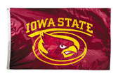 Iowa State Cyclones 2-sided Nylon Applique 3 Ft x 5 Ft Flag w/ grommets
