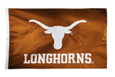 Texas Longhorns 2-sided Nylon Applique 3 Ft x 5 Ft Flag w/ grommets