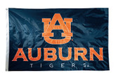 Auburn Tigers 2-sided Nylon Applique 3 Ft x 5 Ft Flag w/ grommets