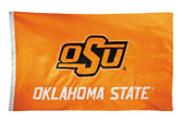 Oklahoma State Cowboys 2-sided Nylon Applique 3 Ft x 5 Ft Flag w/ grommets