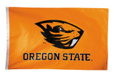 Oregon State Beavers 2-sided Nylon Applique 3 Ft x 5 Ft Flag w/ grommets