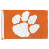 Clemson Tigers 2 Ft. X 3 Ft. Flag W/Grommets