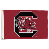 South Carolina Gamecocks  2 Ft. X 3 Ft. Flag W/Grommets