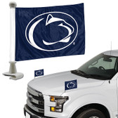 "Penn State Nittany Lions Ambassador 4"" x 6"" Car Flag Set of 2"