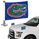 """Florida Gators Ambassador 4"""" x 6"""" Car Flag Set of 2"""