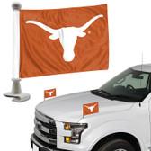 "Texas Longhorns Ambassador 4"" x 6"" Car Flag Set of 2"