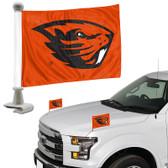 "Oregon State Beavers Ambassador 4"" x 6"" Car Flag Set of 2"