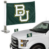 "Baylor Bears Ambassador 4"" x 6"" Car Flag Set of 2"