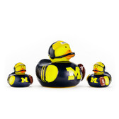 Michigan Wolverines 3-Pack All Star Ducks