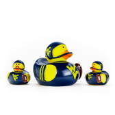 West Virginia Mountaineers 3-Pack All Star Ducks
