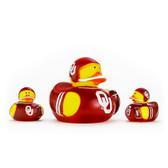 Oklahoma Sooners 3-Pack All Star Ducks