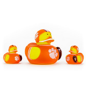 Clemson Tigers 3-Pack All Star Ducks