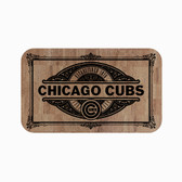 """Chicago Cubs Cork Comfort Mat 18"""" x 30"""""""