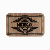 "Michigan Wolverines Cork Comfort Mat 18"" x 30"""