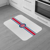 "Chicago Cubs Burlap Comfort Mat 29""x18""x0.5"""