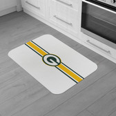 "Green Bay Packers Burlap Comfort Mat 29""x18""x0.5"""