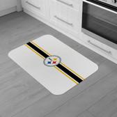 "Pittsburgh Steelers Burlap Comfort Mat 29""x18""x0.5"""