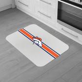 "Denver Broncos Burlap Comfort Mat 29""x18""x0.5"""