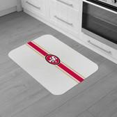 """San Francisco 49ers Burlap Comfort Mat 29""""x18""""x0.5"""""""