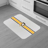 "Pittsburgh Penguins Burlap Comfort Mat 29""x18""x0.5"""