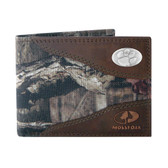 Clemson Tigers Passcase Nylon Mossy Oak Wallet