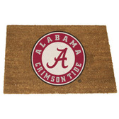 Alabama Crimson Tide Colored Logo Door Mat