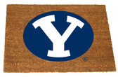 BYU Cougars Colored Logo Door Mat
