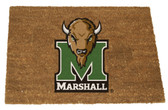 Marshall Thundering Herd Colored Logo Door Mat
