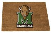Marshall Thundering Herd Colored Logo Door Mat
