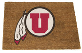 Utah Utes Colored Logo Door Mat