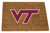 Virginia Tech Hokies Colored Logo Door Mat