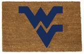 West Virginia Mountaineers Colored Logo Door Mat