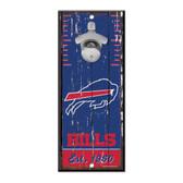 Buffalo Bills Sign Wood 5x11 Bottle Opener