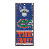 Florida Gators Sign Wood 5x11 Bottle Opener