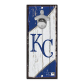 Kansas City Royals Sign Wood 5x11 Bottle Opener