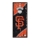 San Francisco Giants Sign Wood 5x11 Bottle Opener