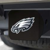 Philadelphia Eagles Hitch Cover Color Emblem on Black