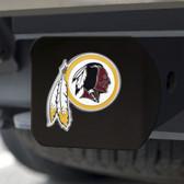 Washington Redskins Hitch Cover Color Emblem on Black