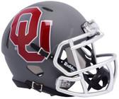 Oklahoma Sooners Helmet Riddell Replica Mini Speed Style AMP Alternate