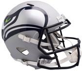 Seattle Seahawks Helmet Riddell Replica Full Size Speed Style AMP Alternate