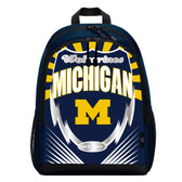 Michigan Wolverines Backpack Lightning Style